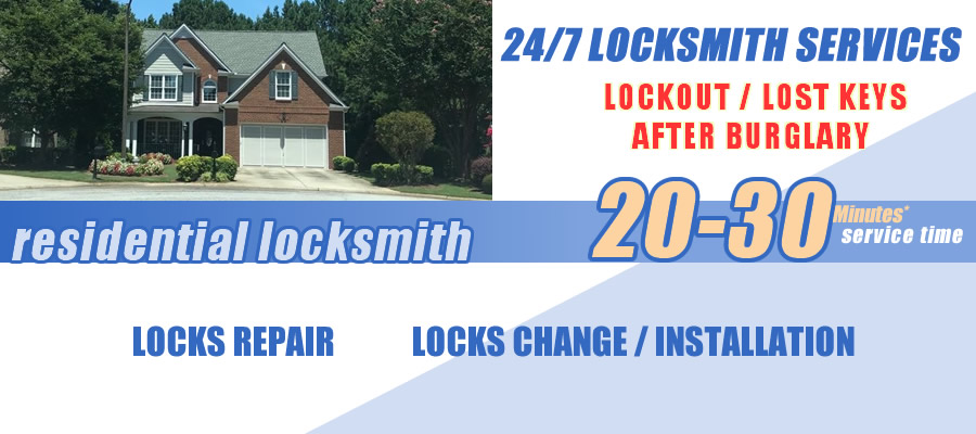 Residential locksmith Lawrenceville